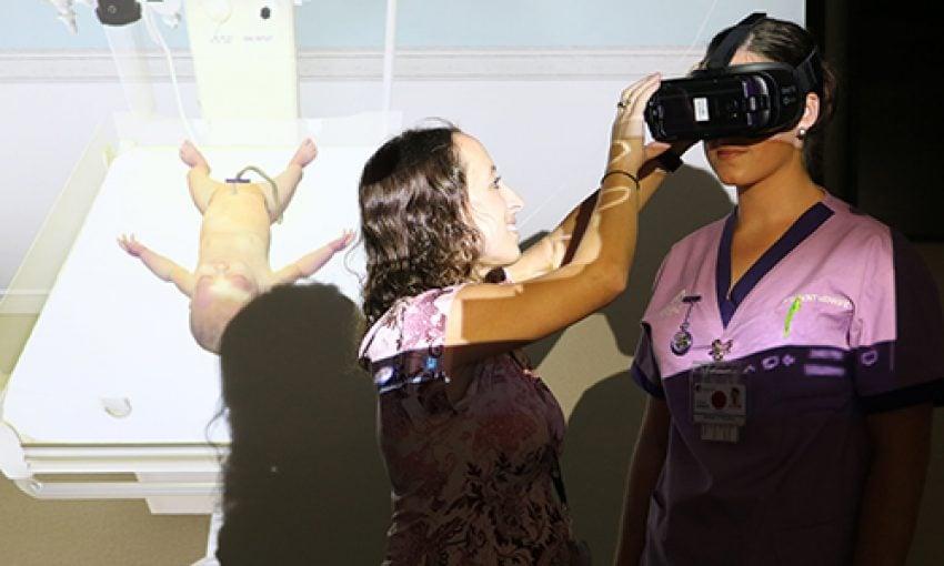 Położnictwo w wirtualnej rzeczywistości
