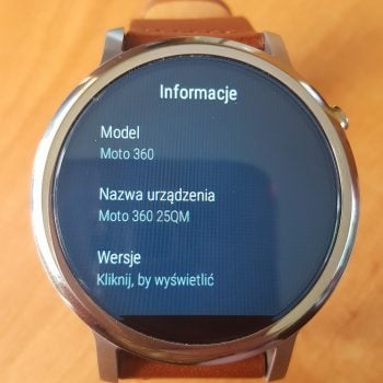 Tabletowo.pl Moto 360 2nd gen otrzymuje aktualizację do Android Wear 2.0 Aktualizacje Android Lenovo Motorola Wearable