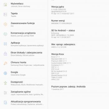 Tabletowo.pl Tablety Samsung Galaxy Tab S2 8.0 VE Wi-Fi (SM-T713) i LTE (SM-T719) otrzymują Androida 7.0 Nougat Aktualizacje Android Samsung Tablety