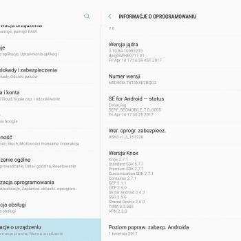 """Tabletowo.pl Aktualizacja do Androida 7.0 Nougat udostępniona także dla Samsunga Galaxy Tab S2 9.7"""" Wi-Fi VE (SM-T813) Aktualizacje Android Samsung Smartfony"""