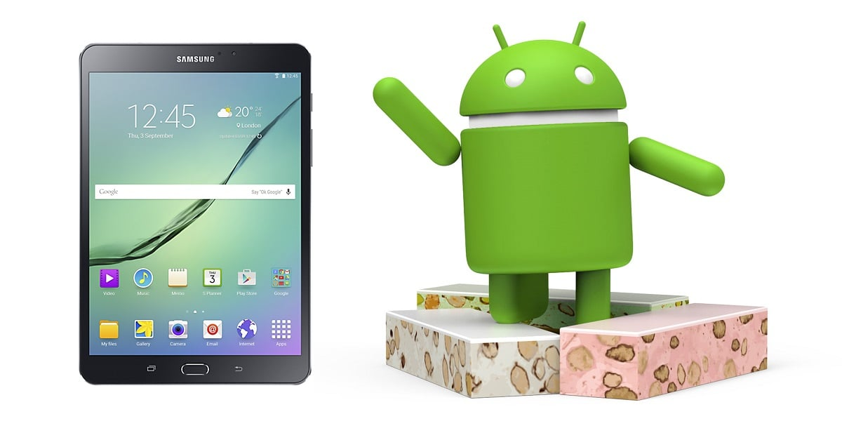 Tablety Samsung Galaxy Tab S2 8.0 VE Wi-Fi (SM-T713) i LTE (SM-T719) otrzymują Androida 7.0 Nougat 20