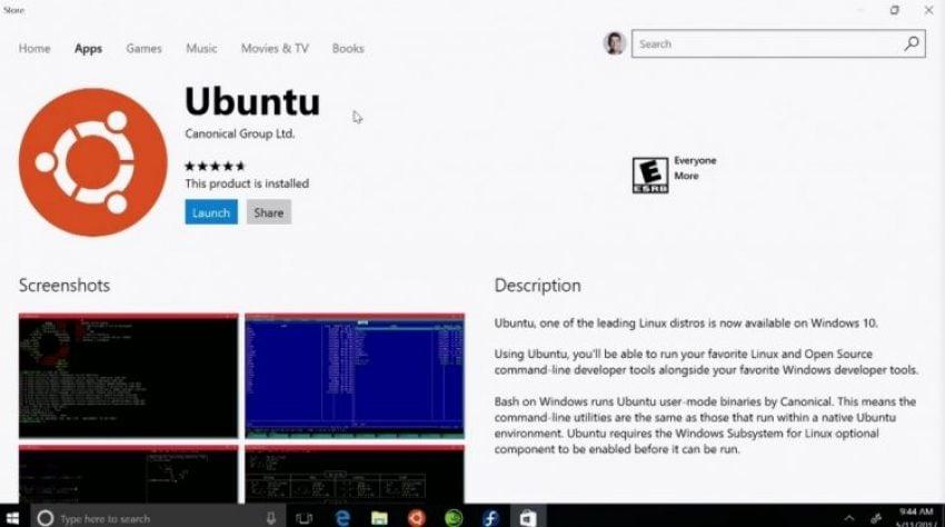 Tabletowo.pl Windows 10 S nie pozwoli na uruchomienie dystrybucji Linuxa Ciekawostki Nowości Ubuntu