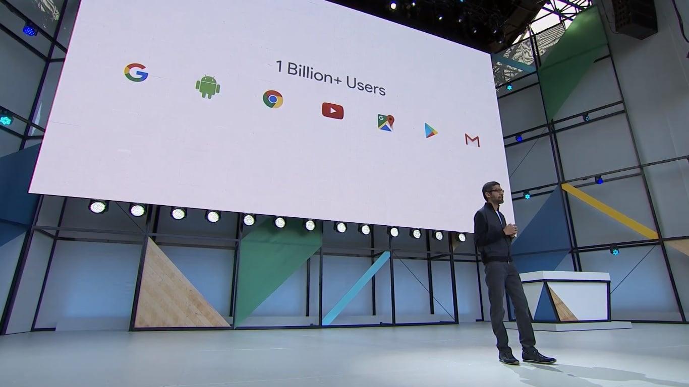 Z każdej usługi Google miesięcznie korzysta ponad miliard użytkowników 17