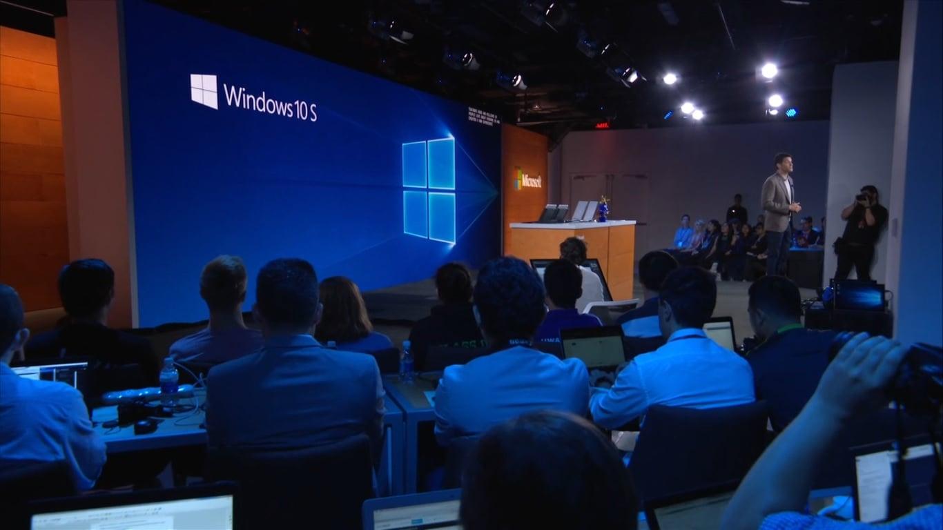 Microsoft zaprezentował swoją wersję Chrome OS - Windows 10 S oraz Surface Laptop 16