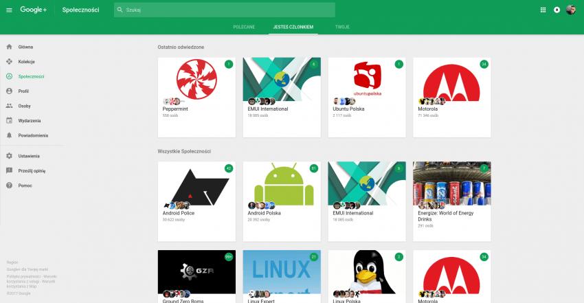 Tabletowo.pl 5 powodów, dla których warto zainteresować się Google+ Felietony Google Opinie Social Media