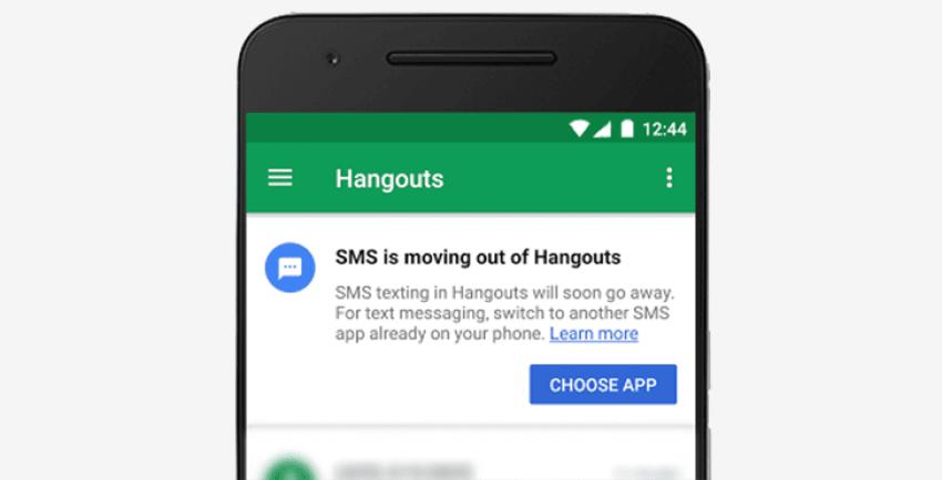 Tabletowo.pl Jeśli ktoś z Was korzysta z Google Hangouts jako aplikacji obsługującej wiadomości SMS, to mamy smutne wieści Aktualizacje Aplikacje Google