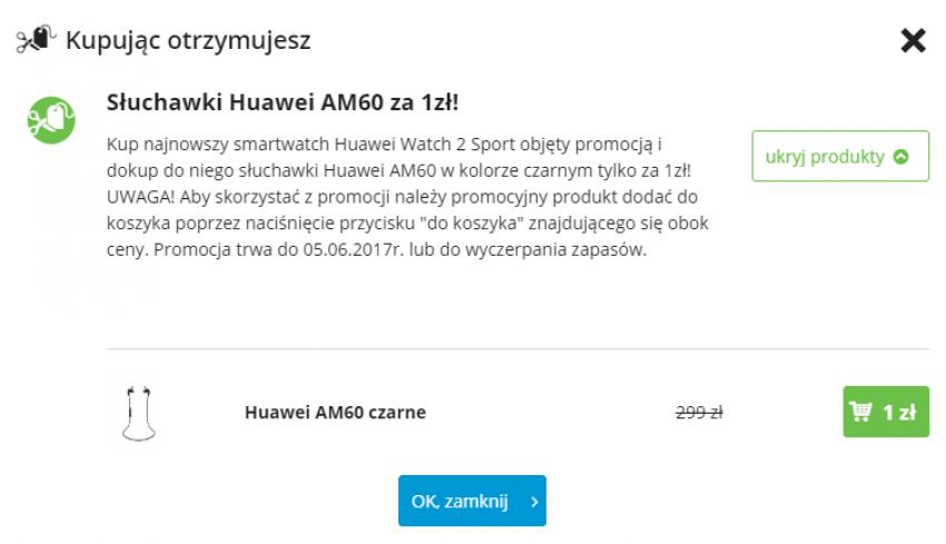 Słuchawki dołączane do Huawei Watch 2