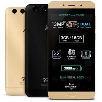 """Allview X4 Soul Lite - do 4GB RAM, podwójny aparat główny i """"czysty"""" Android 7.0 Nougat 16"""