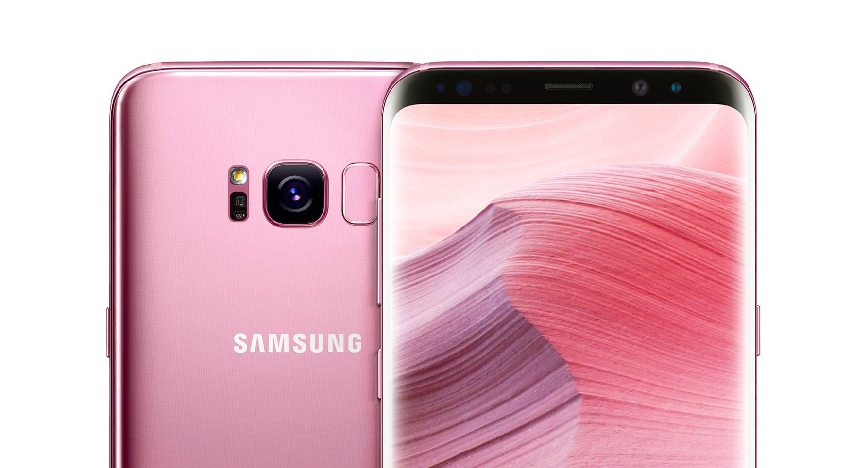 Tabletowo.pl Przyjrzyjcie się dobrze różowej wersji Samsunga Galaxy S8+, bo u nas jej nie dostaniecie Nowości Samsung Smartfony