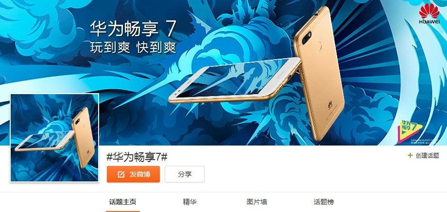 Tabletowo.pl Huawei Enjoy 7 zadebiutuje tego samego dnia, co Samsung Galaxy Note FE i Meizu Pro 7 Android Huawei Smartfony