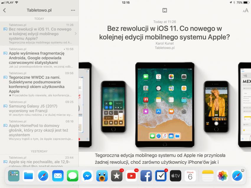 Tabletowo.pl Pierwsze wrażenia z iOS 11 Apple iOS