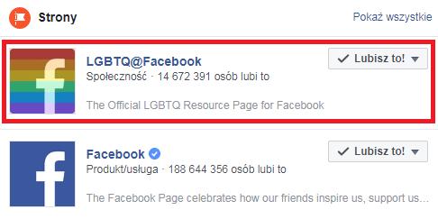 Facebook wprowadza nową reakcję: tęczową flagę 20