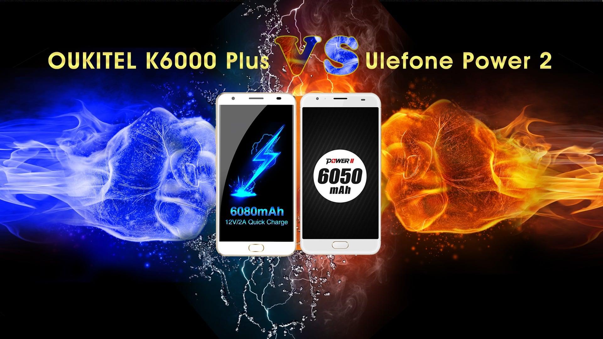 Pojedynek gigantów z baterią ~6000 mAh - Oukitel K6000 Plus vs Ulefone Power 2. Który wygra? 16