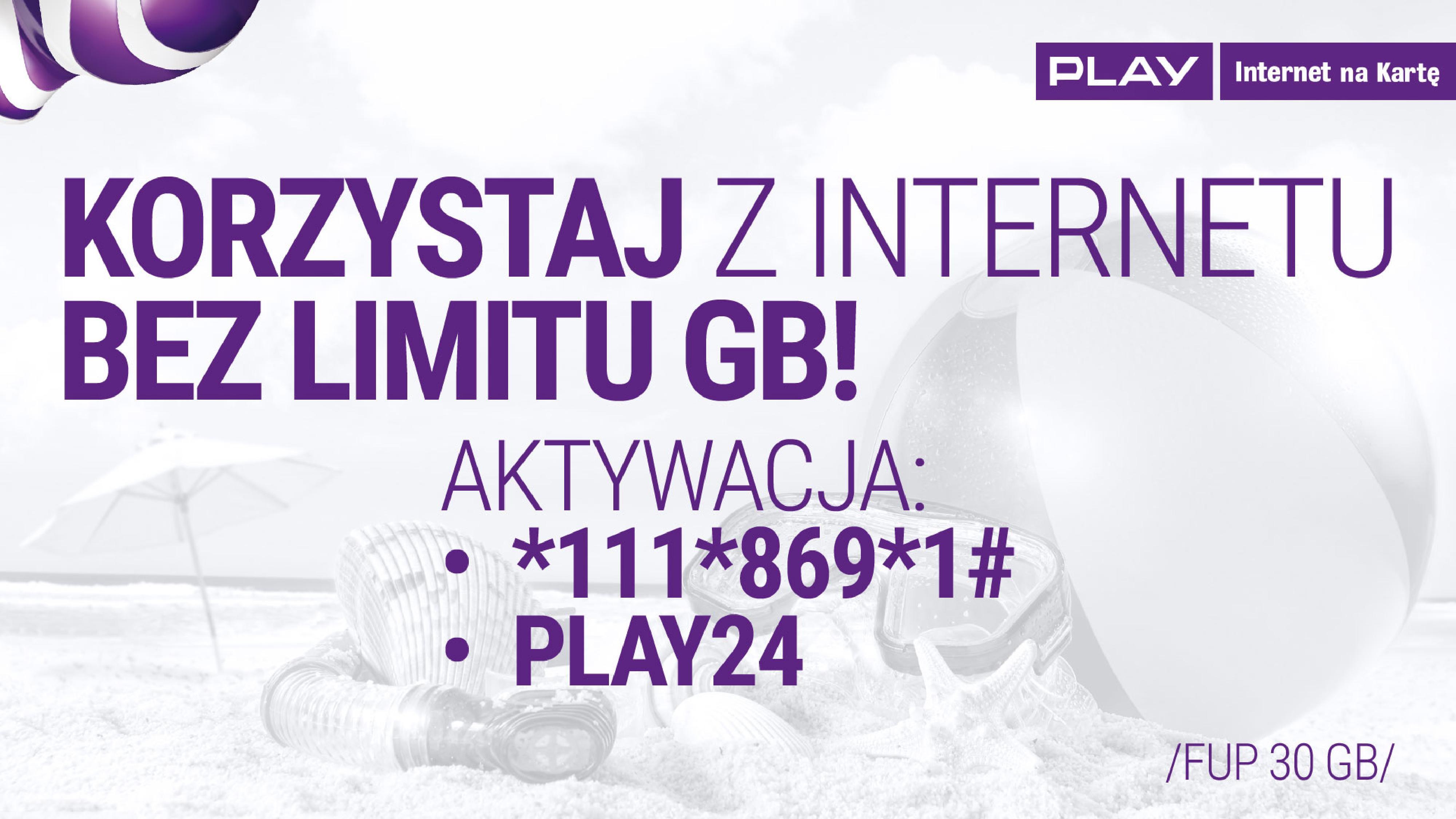 Masz Play na Kartę? Dostaniesz 9 GB internetu na wakacje i Tidala do końca roku! 20