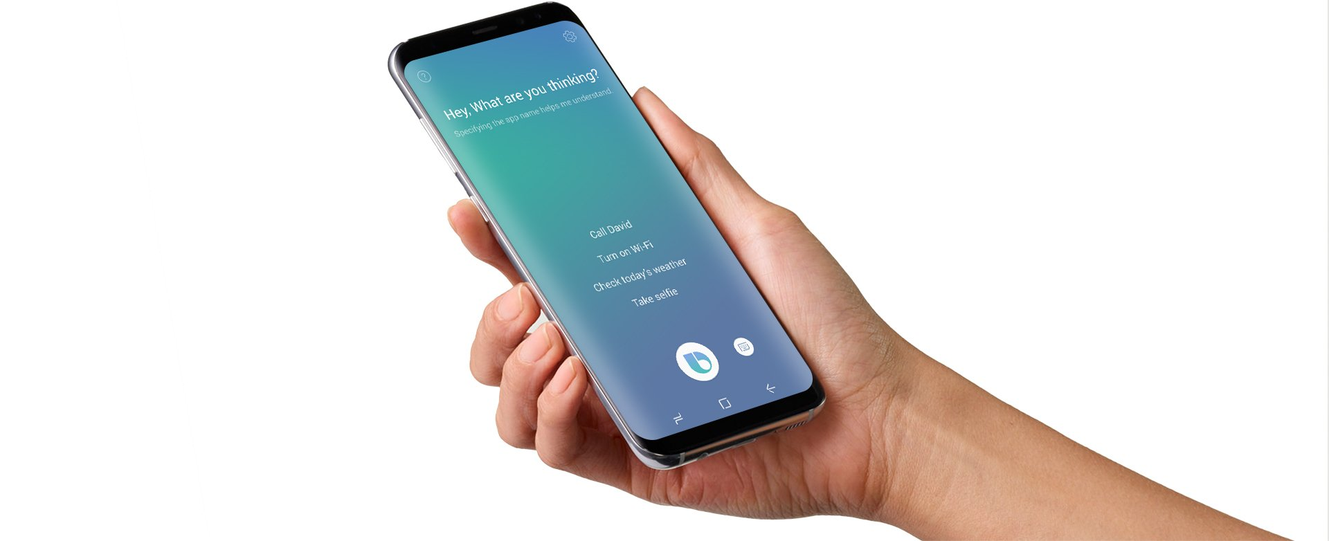 Tabletowo.pl Przycisk Bixby w Samsungu Galaxy S8 bezużyteczny nie tylko dla nas - problemy z asystentem w USA Samsung Smartfony Sztuczna Inteligencja