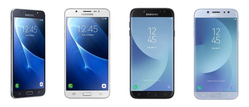 Tabletowo.pl Cena tego średniaka Samsunga nie straszy, a to dobrze. Galaxy J7 (2017) w przedsprzedaży Samsung Smartfony