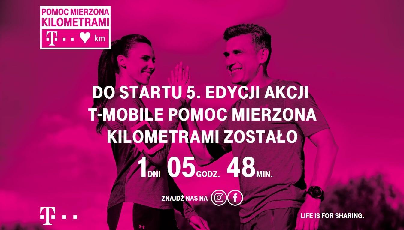 Tabletowo.pl W najbliższą sobotę rusza 5. edycja akcji T-Mobile Pomoc Mierzona Kilometrami GSM