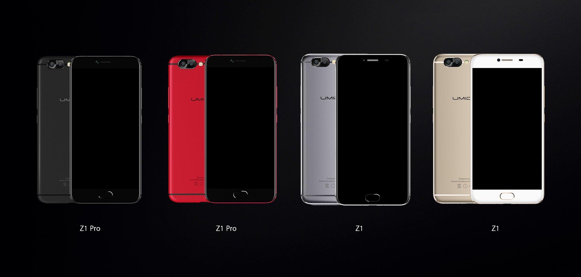Tabletowo.pl UMIDIGI Z1 i UMIDIGI Z1 Pro - Helio P20, 6GB RAM i bateria 4000 mAh Android Chińskie Nowości Smartfony