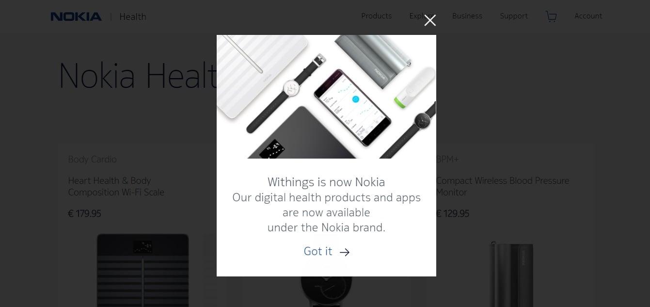Tabletowo.pl Nie ma już Withings. Od teraz jest tylko Nokia Nokia Smart Home Wearable