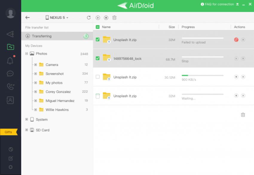 Tabletowo.pl AirDroid wraz z nową aktualizacją przynosi wbudowany menedżer plików Aktualizacje Aplikacje Oprogramowanie