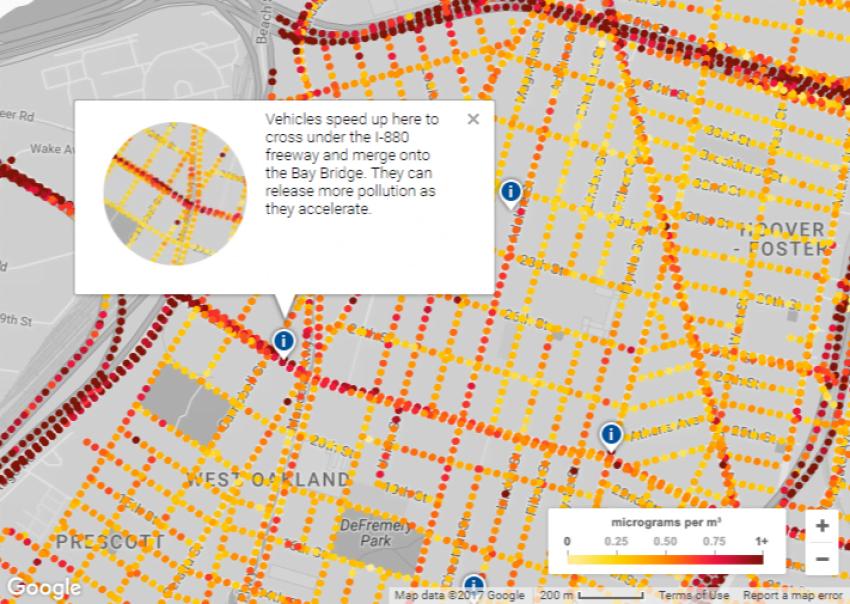 Google bierze się za ekologię i pokazuje stan zanieczyszczenia powietrza