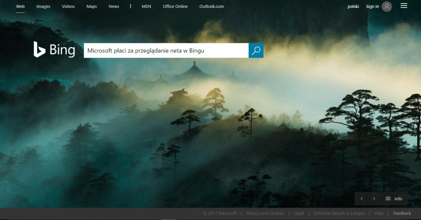 Microsoft musiałby Ci płacić, żebyś korzystał z wyszukiwarki Bing? W Anglii jest taka opcja 21