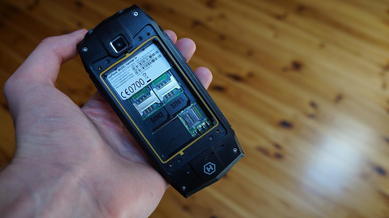 05a4b8144071 Test myPhone Hammer 3+