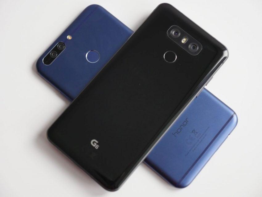 Tabletowo.pl Porównanie: Honor 8 Pro vs LG G6 Android Huawei LG Porównania Smartfony