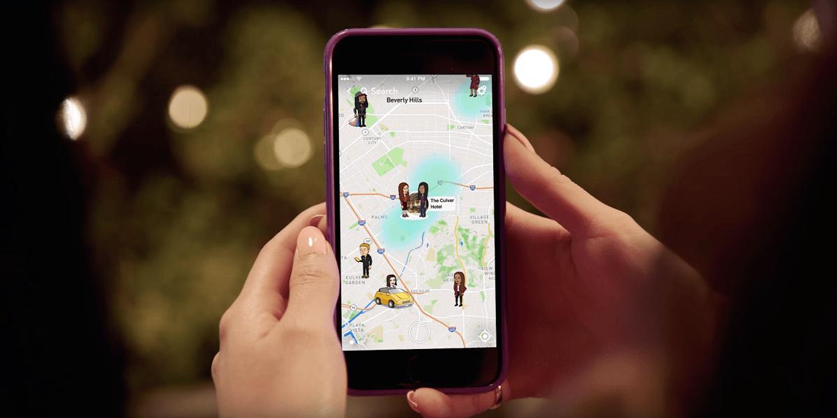 Tabletowo.pl Snapchat dzięki funkcji Snap Map umożliwi ci sprawdzenie, gdzie są Twoi znajomi Aktualizacje Aplikacje Nowości Social Media