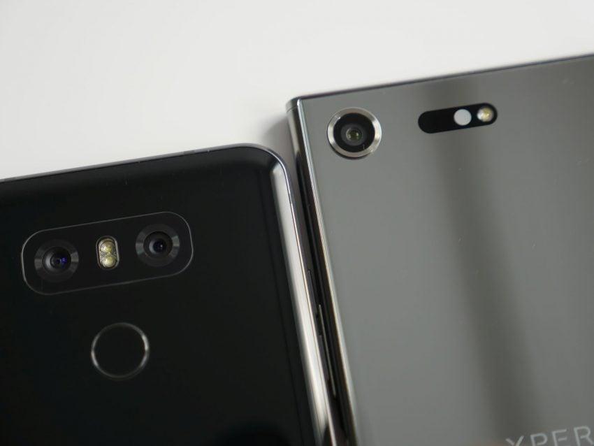 Porównanie: Sony Xperia XZ Premium vs LG G6 21