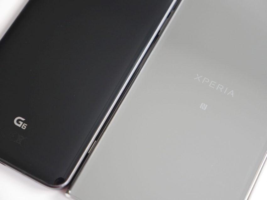 Porównanie: Sony Xperia XZ Premium vs LG G6 183