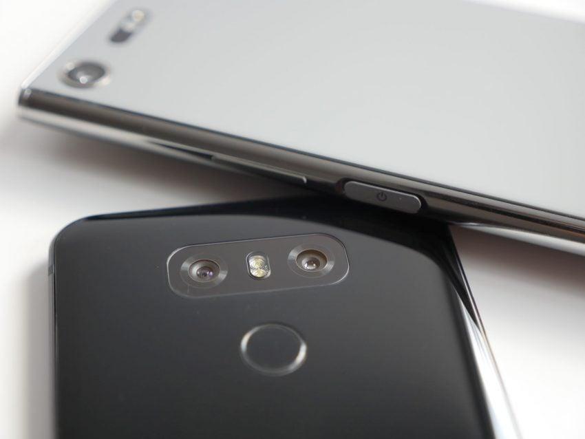 Porównanie: Sony Xperia XZ Premium vs LG G6 22