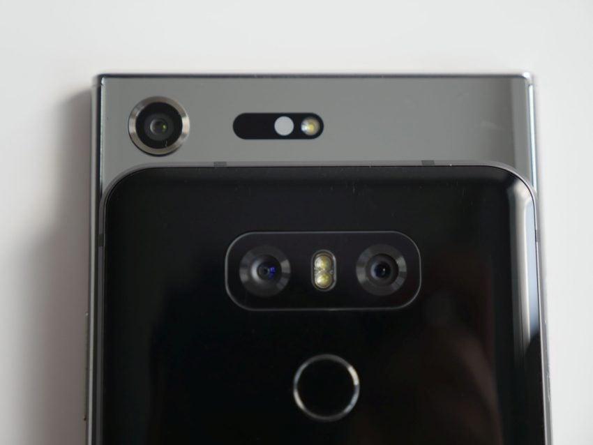 Porównanie: Sony Xperia XZ Premium vs LG G6 31