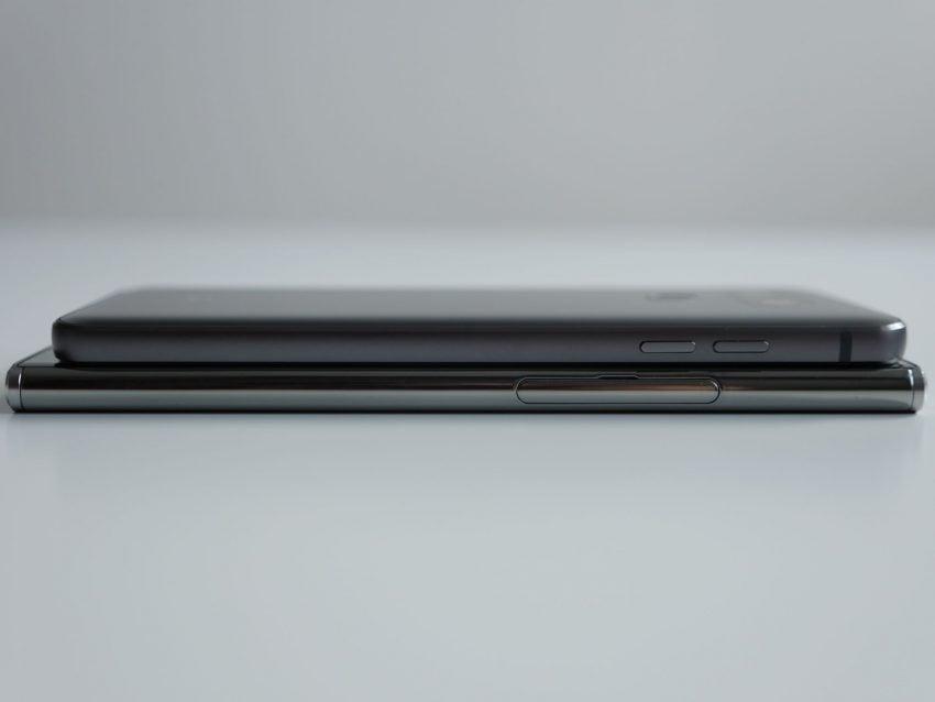 Porównanie: Sony Xperia XZ Premium vs LG G6 26