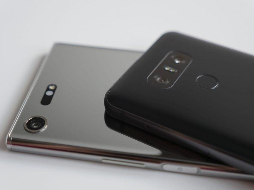 Porównanie: Sony Xperia XZ Premium vs LG G6 23