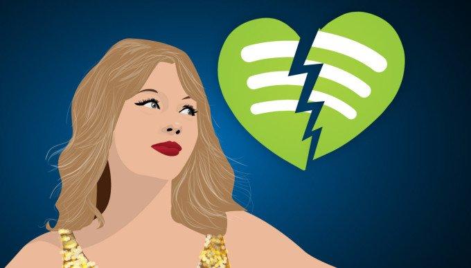 """Spotify: """"Będziecie nam płacić, żeby NIE dostawać powiadomień od artystów"""" 25"""