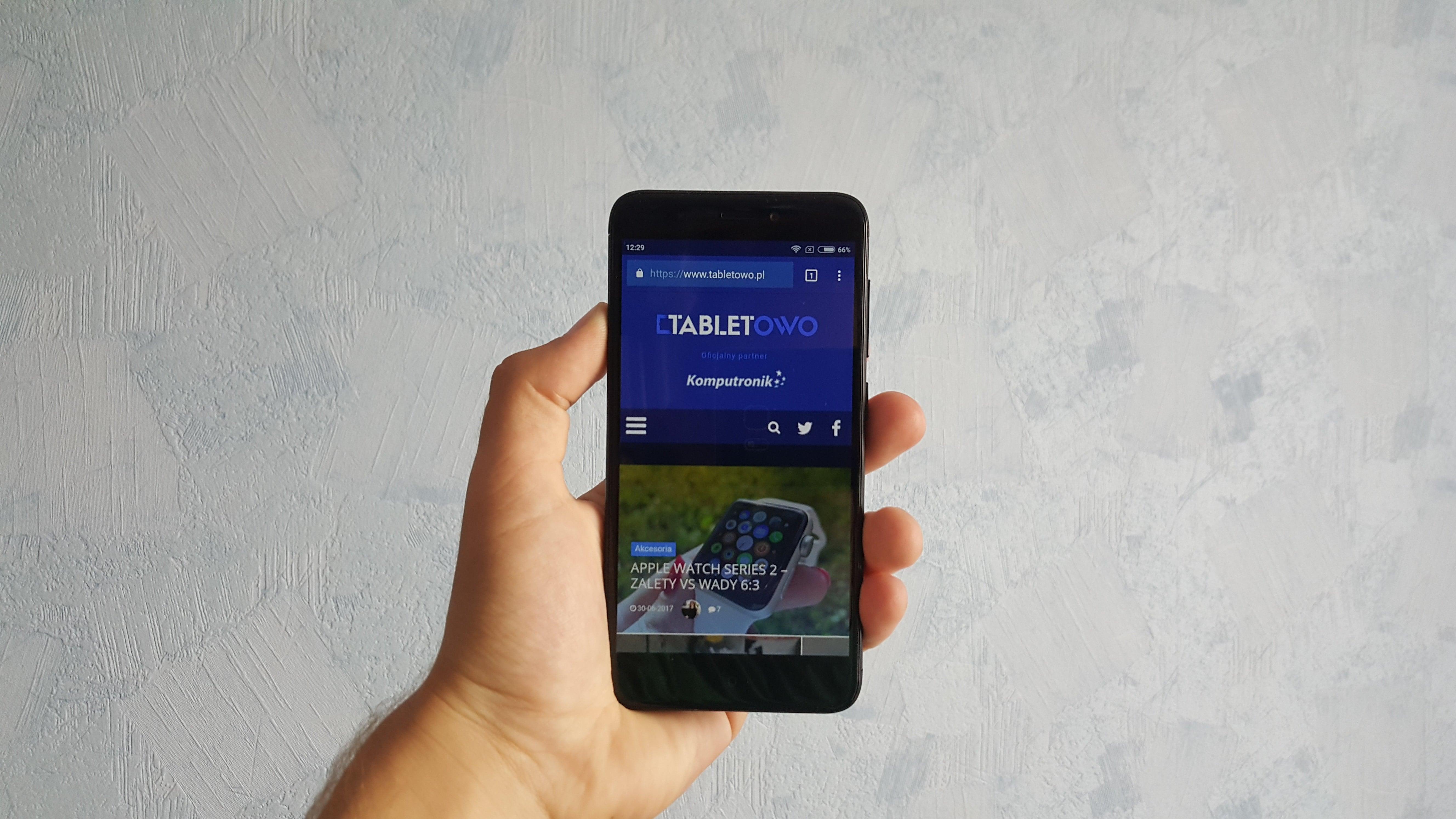 Tabletowo Co potrafi Xiaomi Redmi 4X zaczynamy testy Android Smartfony Xiaomi Zapowiedzi