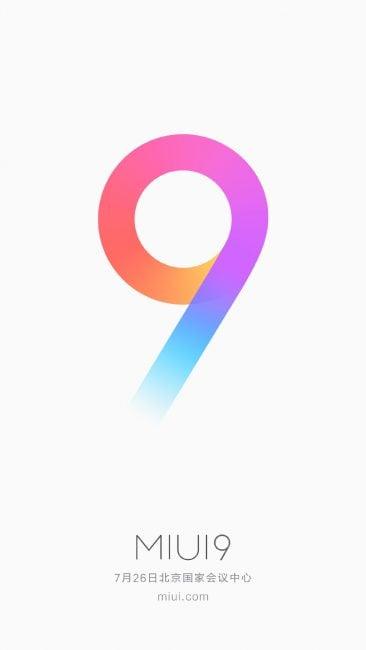 To już potwierdzone! Xiaomi Mi 5X oraz MIUI 9 zostaną zaprezentowane 26 lipca 19