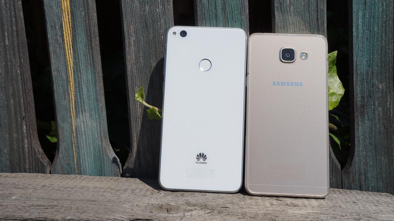 Tabletowo.pl Porównanie Huawei P9 Lite 2017 oraz Samsunga Galaxy A5 2016, czyli dwóch ciekawych średniopółkowców Huawei Porównania Samsung