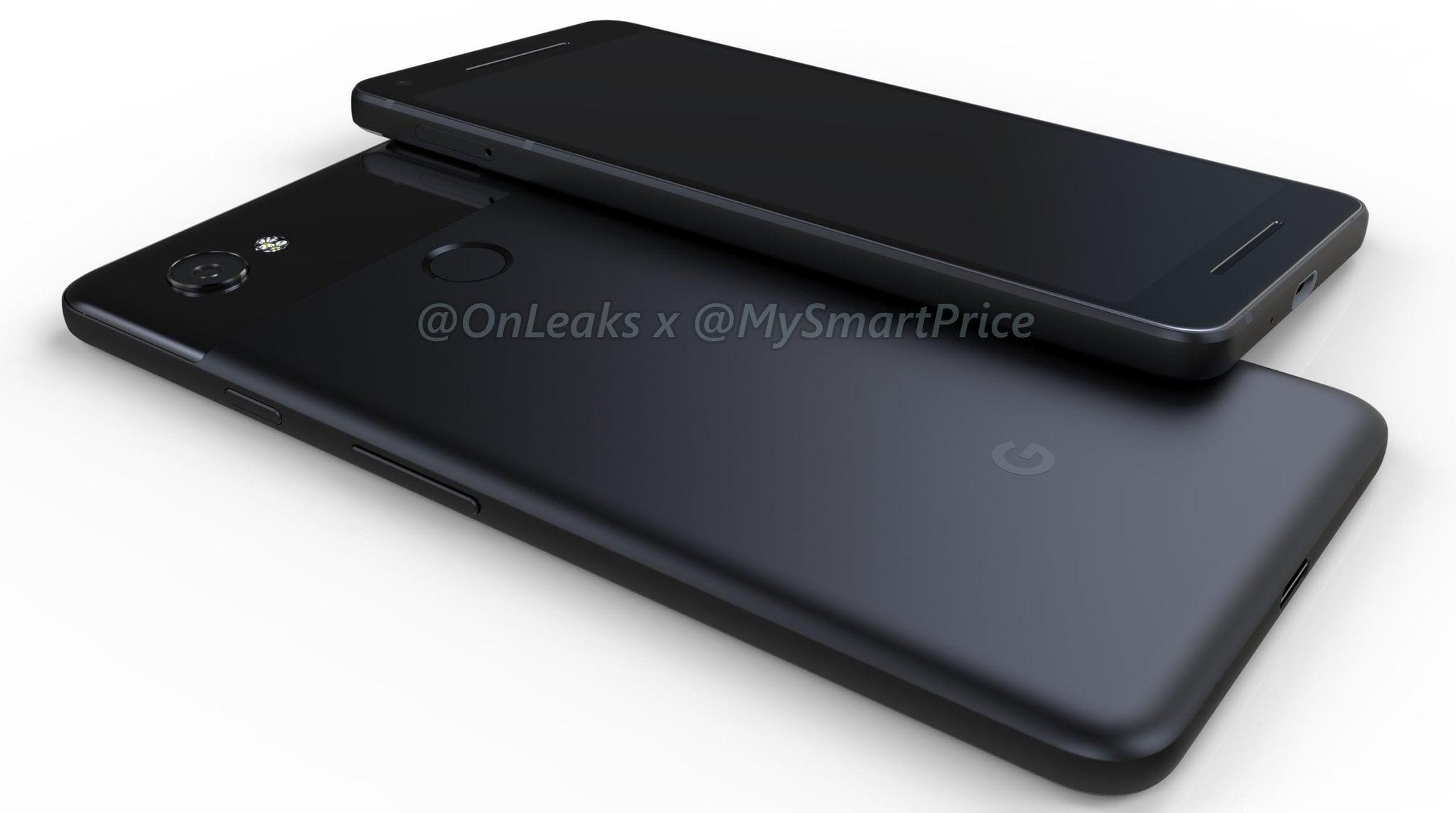 Tabletowo.pl Tak dokładnie mają wyglądać tegoroczne Pixele od Google Android Google Plotki / Przecieki Smartfony