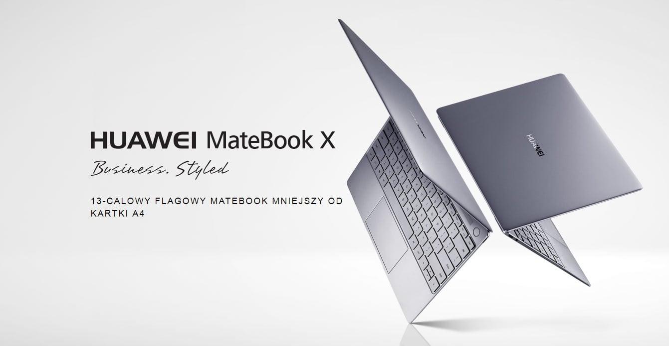 Tabletowo.pl Huawei MateBook X już do kupienia w Polsce. Znamy cenę. Jest sporo taniej niż na Zachodzie Huawei Laptopy Windows