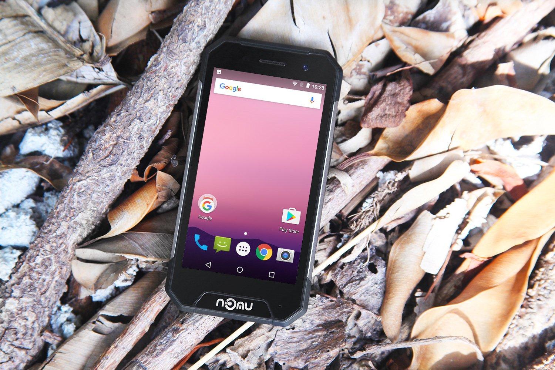 """NOMU S30 mini spada """"na twarz"""". Droptest małego, wytrzymałego smartfona 23"""