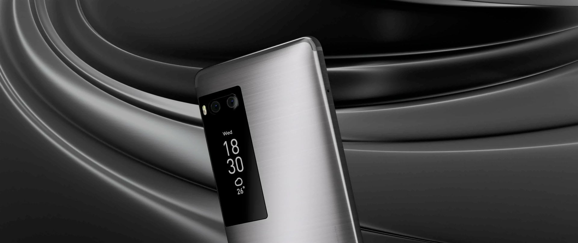 smartfon Meizu Pro 7 smartphone dodatkowy ekran