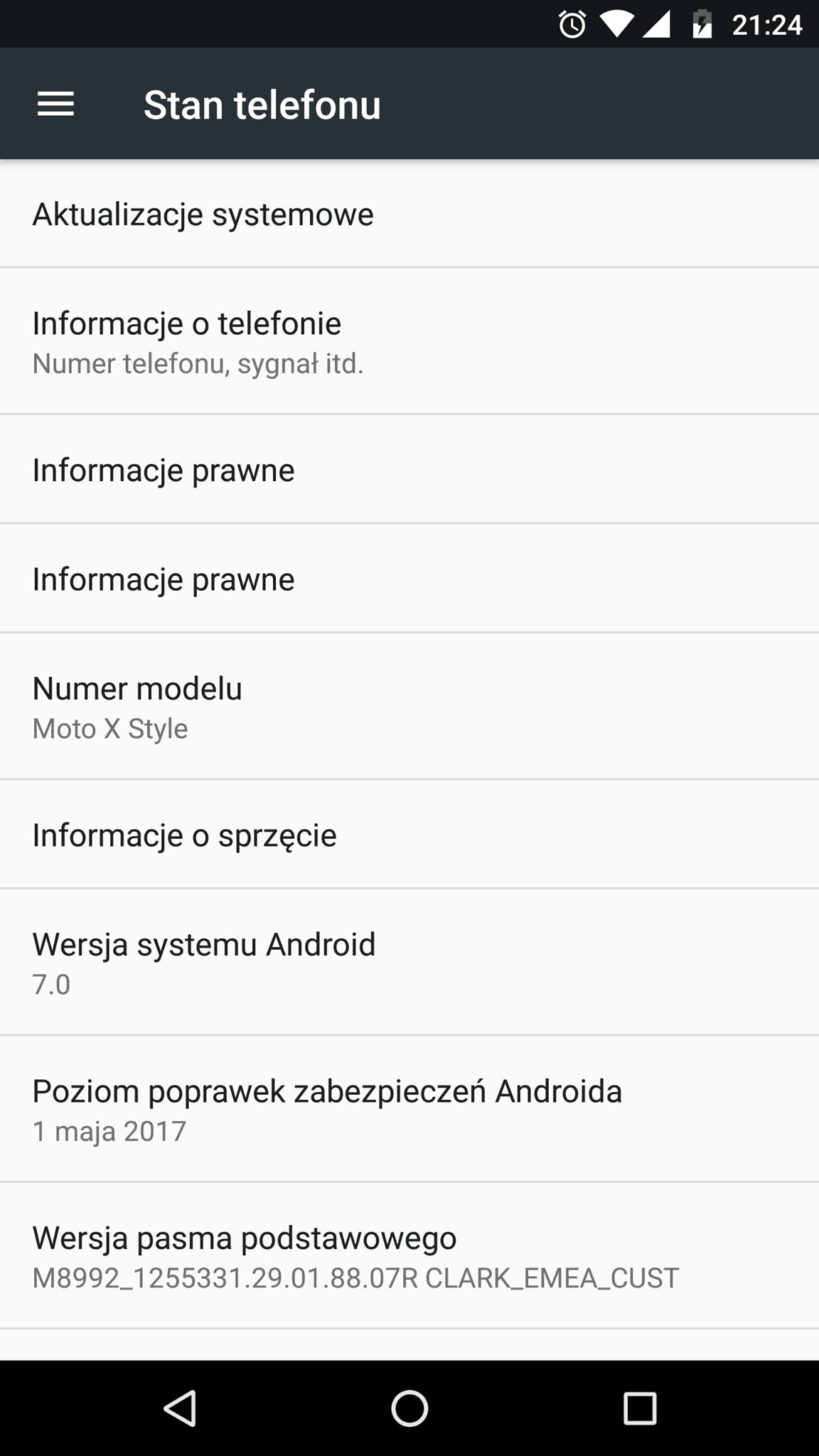 Tabletowo.pl W końcu! Motorola Moto X Style dostała oficjalnie Androida 7.0 Nougat w Polsce Aktualizacje Android Lenovo Motorola Smartfony