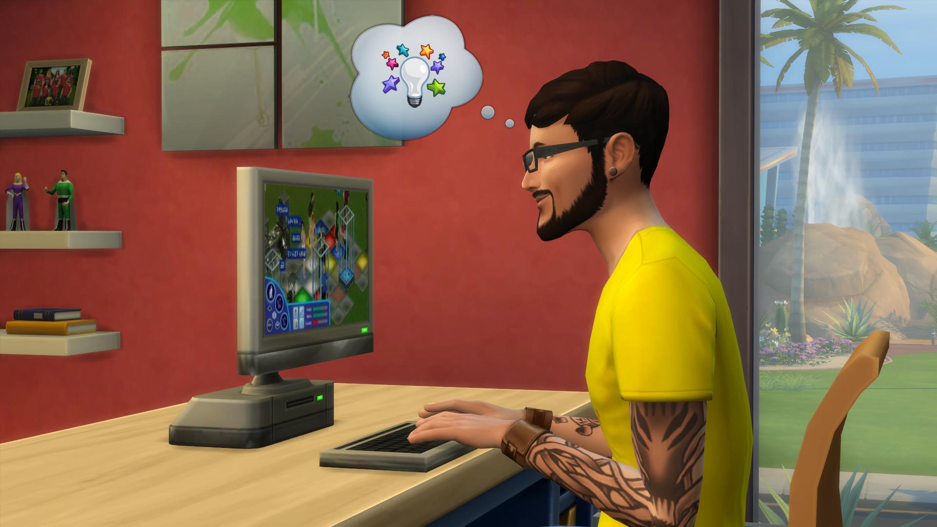 Ludzie lubią sobie pogrywać z życiem - w The Sims 4 gra coraz więcej osób 17