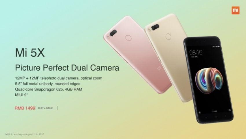 Pierwszy smartfon Xiaomi z preinstalowanym MIUI 9 - oto Xiaomi Mi 5X 20