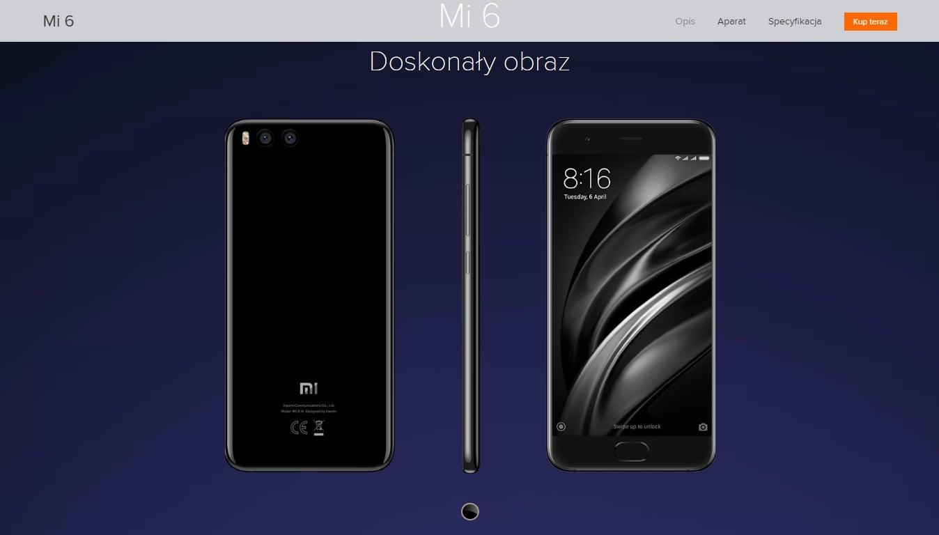 Polska cena Xiaomi Mi 6 potwierdzona! Ale jest też zła wiadomość... 20