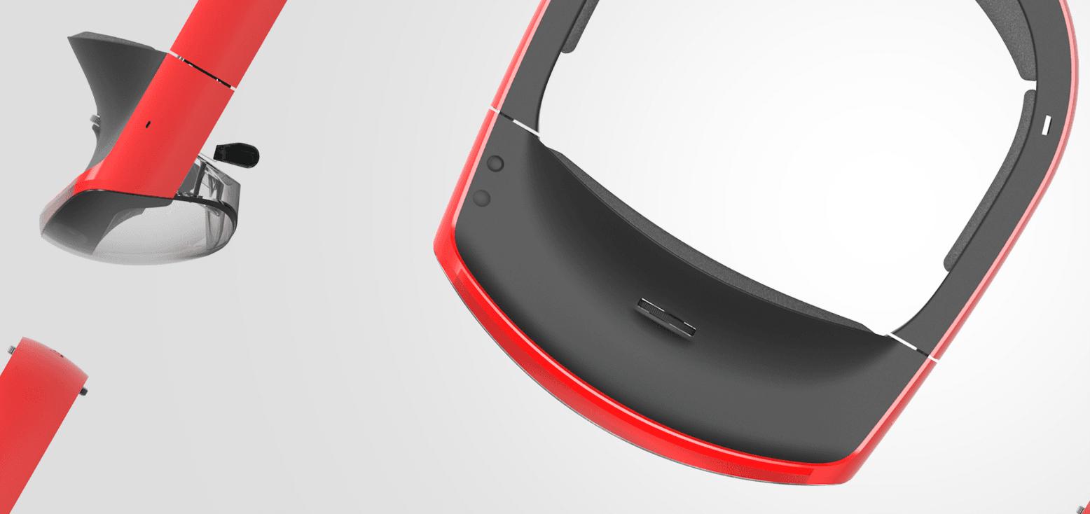 Tabletowo.pl Lenovo chwali się swoimi goglami à la HoloLens: 'Wierzymy w inteligentną przyszłość' Aplikacje Rozszerzona rzeczywistość Sztuczna Inteligencja