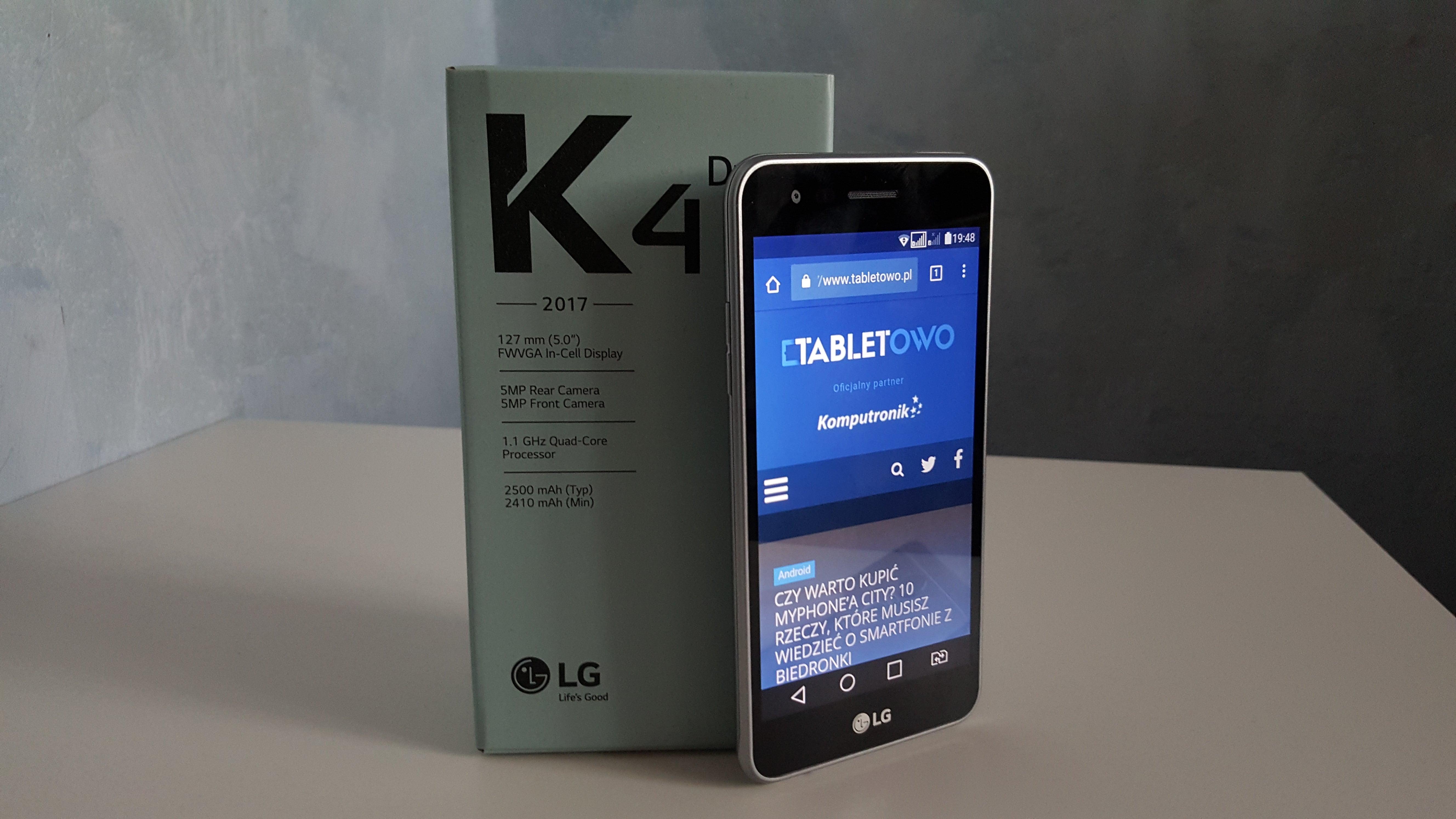 Koreański przepis na budżetowca? Recenzja LG K4 (2017) 16