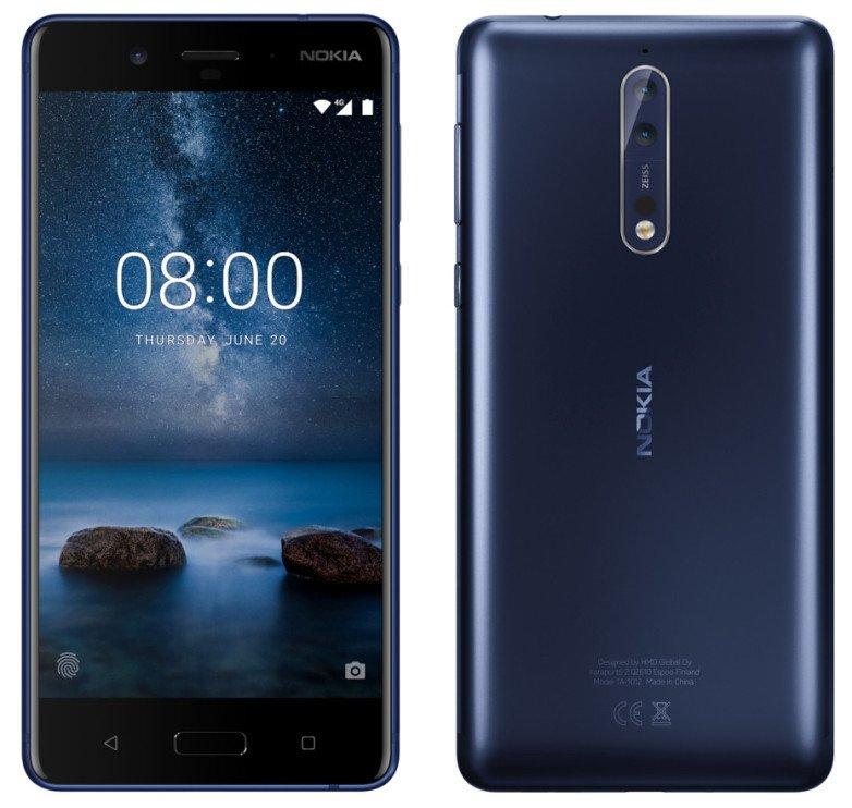 Tabletowo.pl W internecie nic nie ginie: HMD Global niechcący potwierdziło wygląd Nokii 8 Nokia Plotki / Przecieki Smartfony